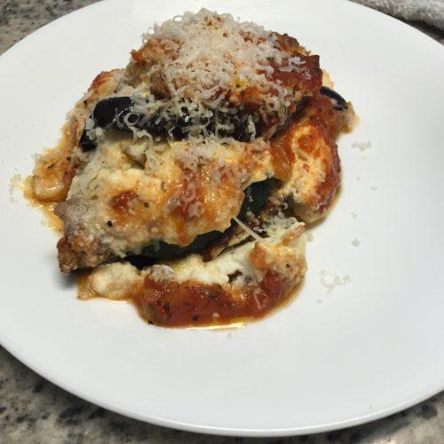 Eggplant Lasagna – Gluten Free – Delish