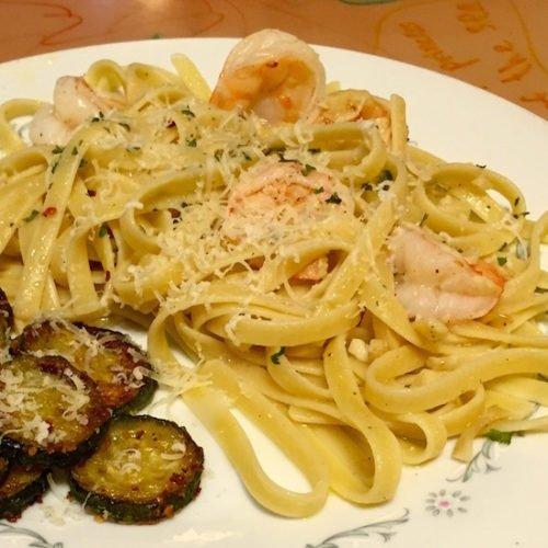 Shrimp Fettuccine Aglio e Olio