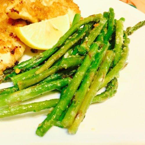 Parmesan Garlic Baked Asparagus