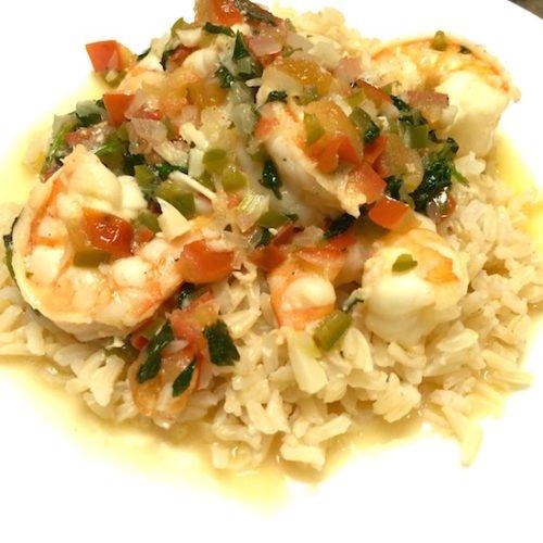 Sautéed Shrimp Mexican Style