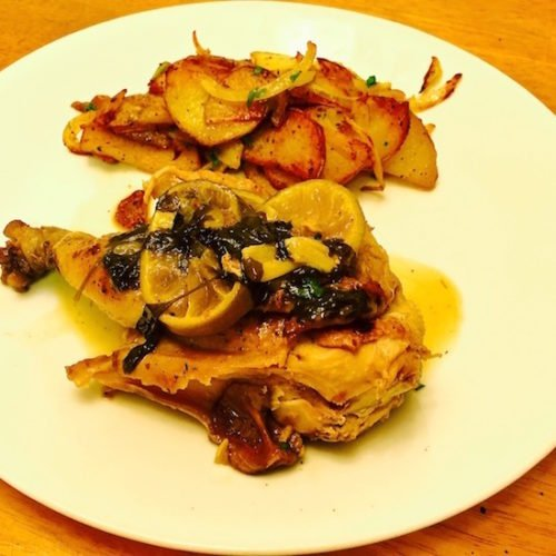 Cornish Game Hen Mexican Style