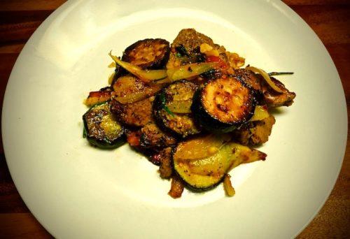 One Skillet Pork Tenderloin and Veggies