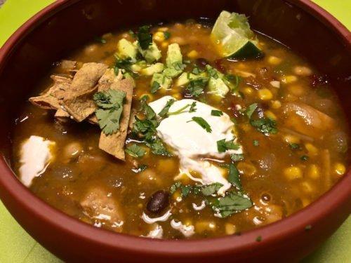 Chicken Tortilla Soup poppopcooks.com