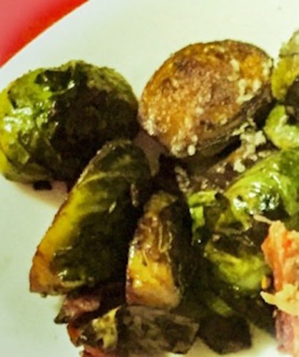 Caramelized Baconized Brussel Sprouts