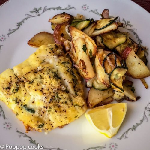 Lemon Zested Baked Cod Fillets 18 minutes