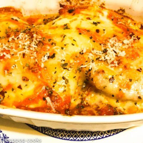 Pork Fillets Parmesan