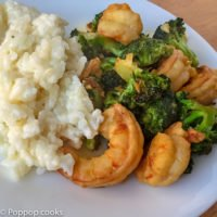 Shrimp Broccoli Soy Sauce – No Wok – 20 Minutes