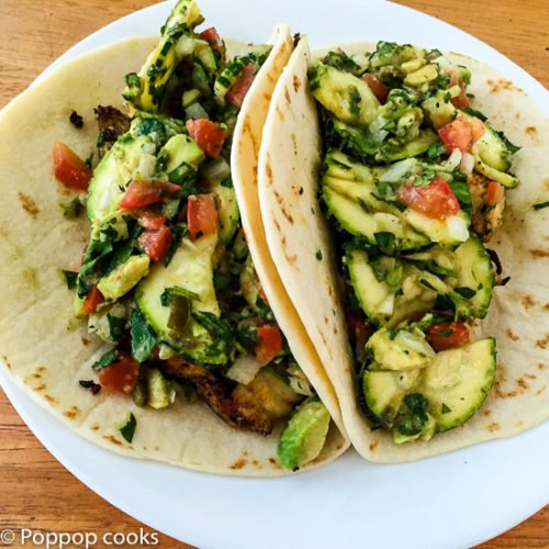 Tortillas archives poppop cooks for Easy fish tacos recipe