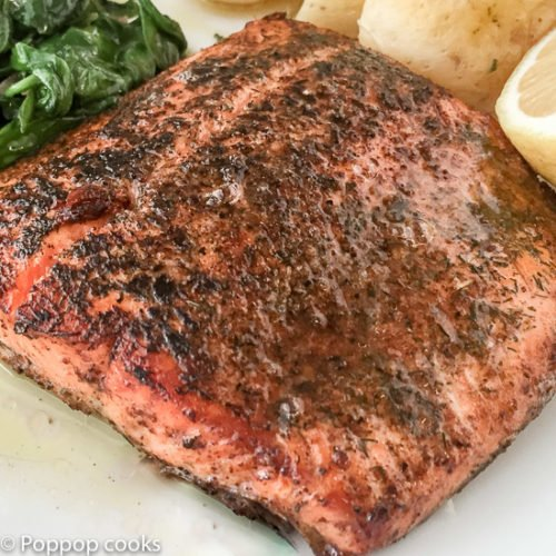 Salmon Sautéed in Lemon Butter