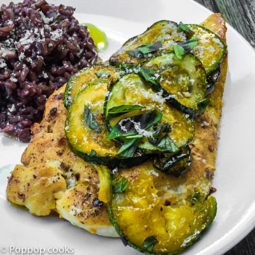 Sauteed Chicken with Zucchini – Twenty Five Minutes