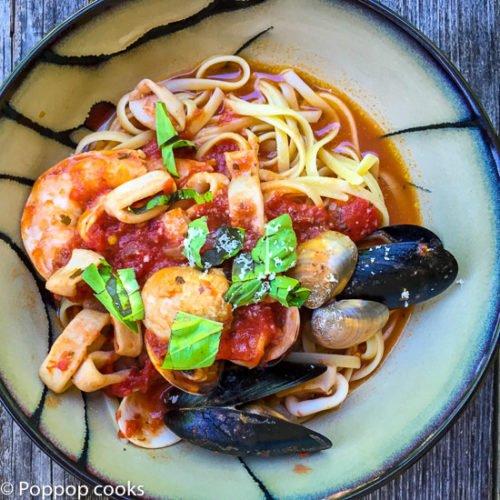 Zuppa di Pesce aka Italian Seafood Soup