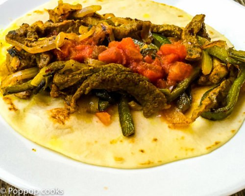 Quick Easy Beef Fajitas – No Marinade