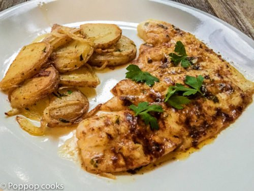 Lemon Garlic Butter Filet of Sole