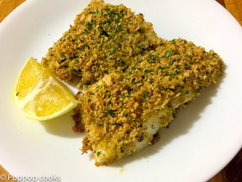 Lemon Zested Cod Filets – Oven Baked- 25 Minutes – Easy Clean Up