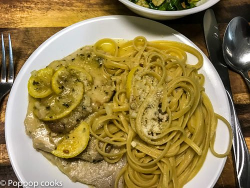 Pork Scallopini in Lemon Butter Sauce – 25 Minutes – Quick and Easy