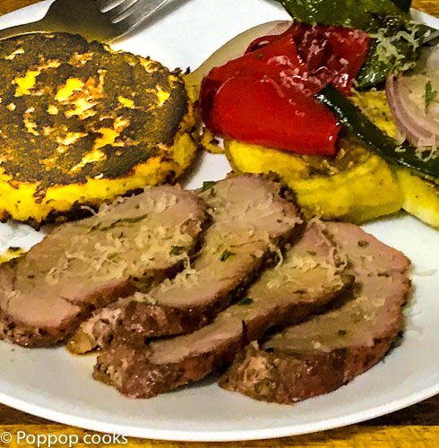 Oven Baked Pork Tenderloin and Italian Vegetables
