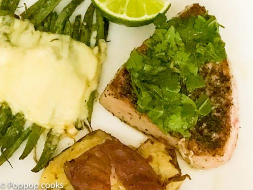 Tuna Steak – Pan Seared – Quick and Easy
