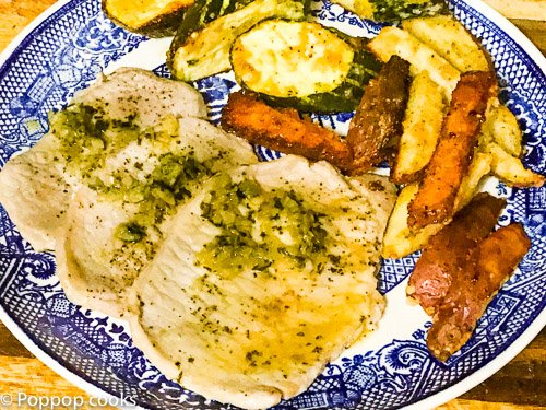 Simple Scallopini Dinner – Quick and Easy- 23 Minutes – Gluten Free