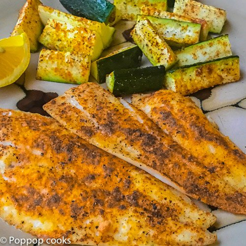 Baked Flounder Filets – 20 Minutes – Quick and Easy – Gluten Free