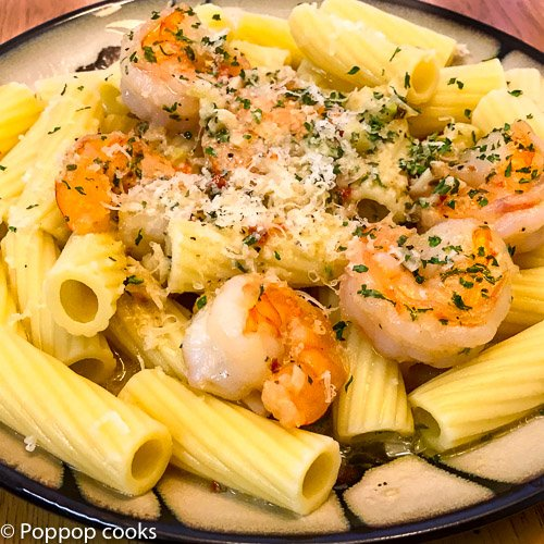 Simple Garlic Shrimp – Quick and Easy – 20 Minutes