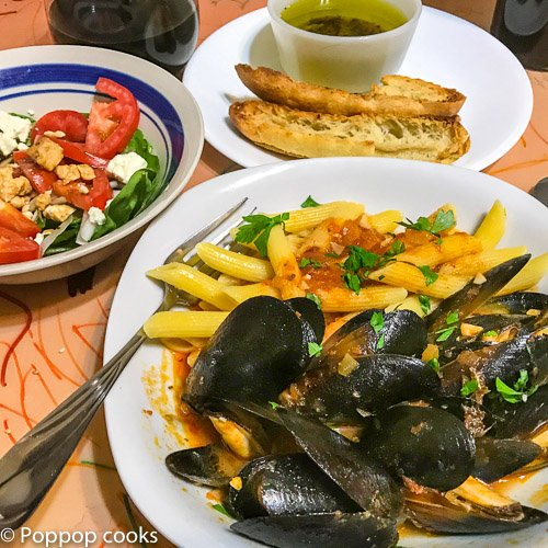 Barcelona Mussels Recipe – A Keeper – 25 Minutes