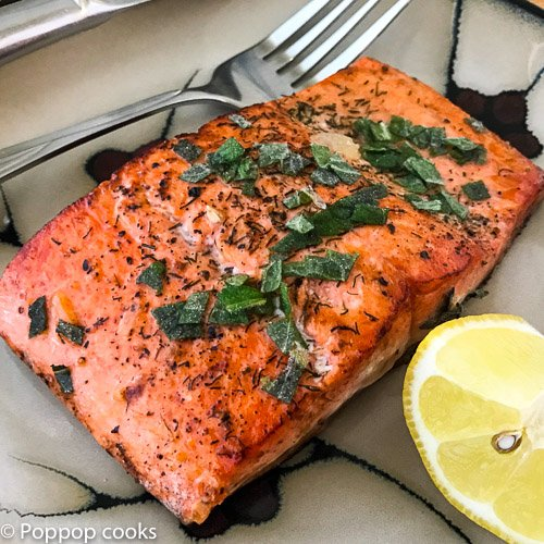 Lemon Mint Salmon – 16 Minutes – Quick and Easy