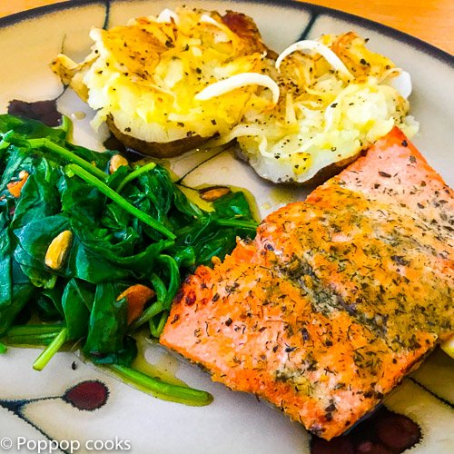 Simple Salmon Weeknight Dinner-7-poppopcooks.com-Quick and Easy-seafood