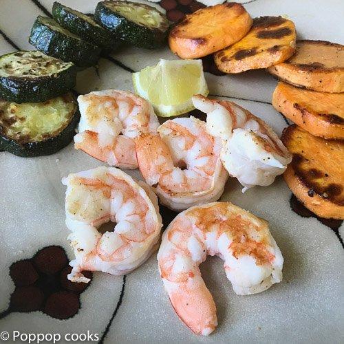 One Skillet Shrimp Dinner 20 Minutes Gluten Free Poppop Cooks